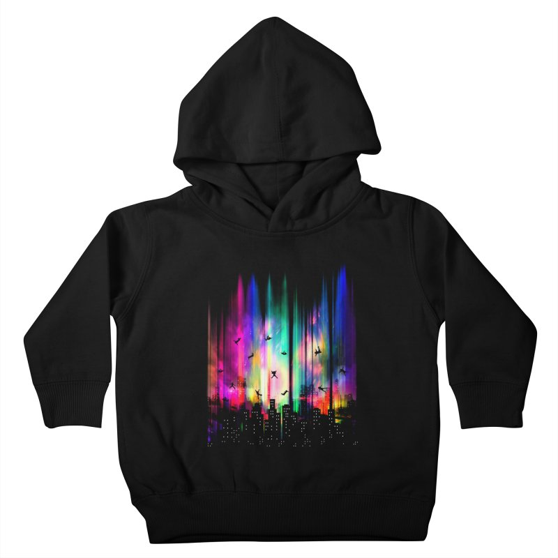 Feel Without Gravity Kids Toddler Pullover Hoody by moncheng's Artist Shop