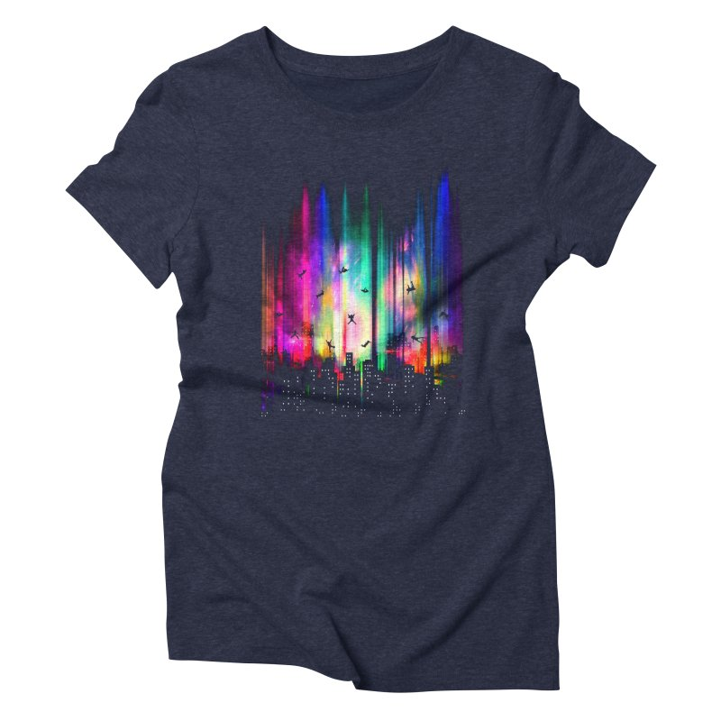 Feel Without Gravity Women's Triblend T-Shirt by moncheng's Artist Shop