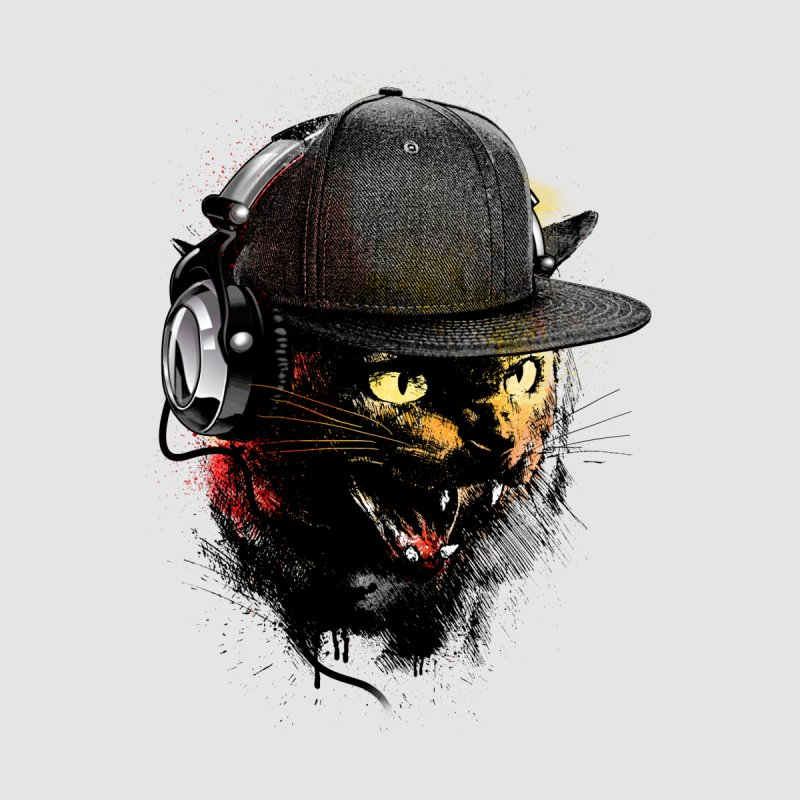 Dj Cat Women's T-Shirt by moncheng's Artist Shop