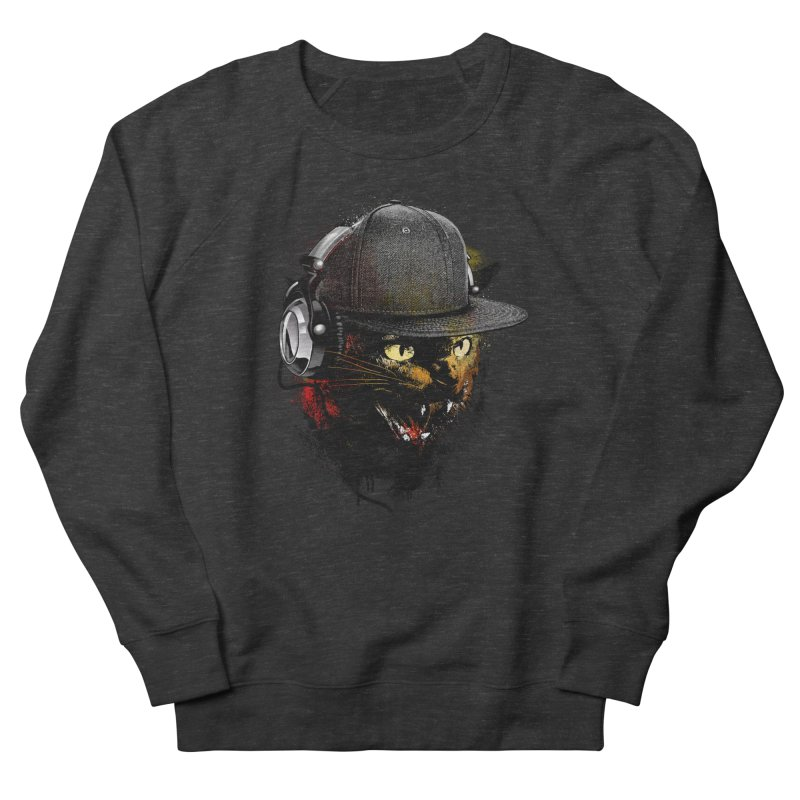 Dj Cat Women's Sweatshirt by moncheng's Artist Shop