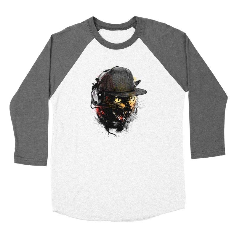 Dj Cat Women's Longsleeve T-Shirt by moncheng's Artist Shop