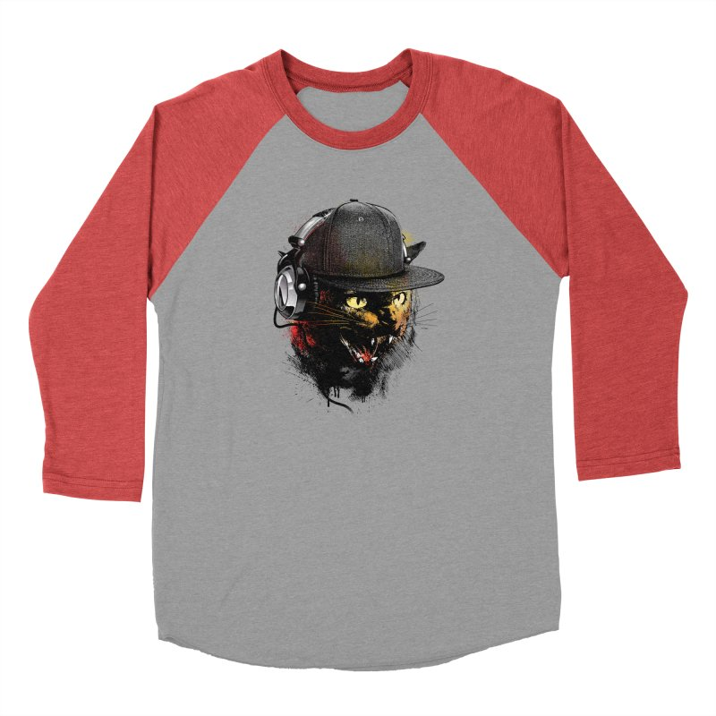 Dj Cat Men's Longsleeve T-Shirt by moncheng's Artist Shop