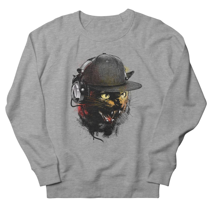 Dj Cat Women's Sweatshirt by moncheng's Artist Shop