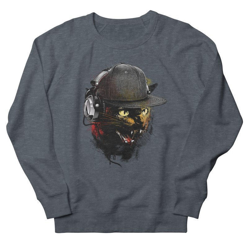 Dj Cat Men's Sweatshirt by moncheng's Artist Shop