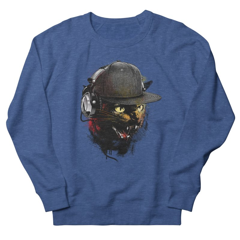 Dj Cat Men's Sweatshirt by moncheng's Artist Shop