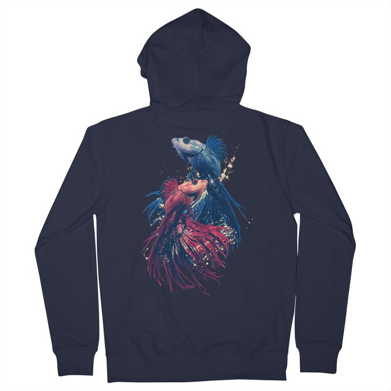 Aquarium Women's Zip-Up Hoody by moncheng's Artist Shop
