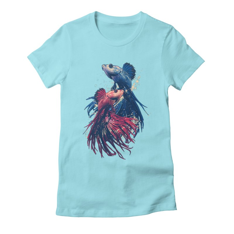 Aquarium Women's T-Shirt by moncheng's Artist Shop