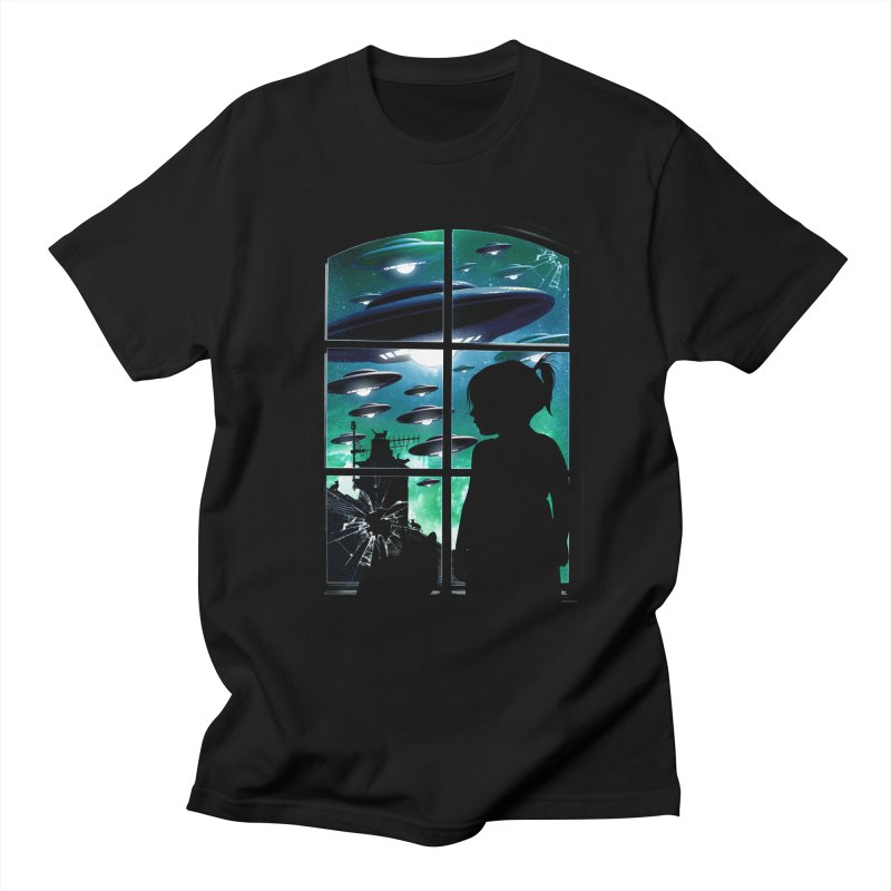 The Invasion Men's T-Shirt by moncheng's Artist Shop