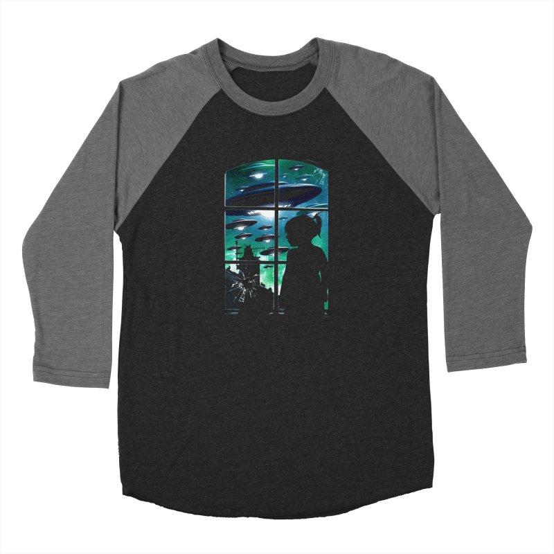 The Invasion Women's Longsleeve T-Shirt by moncheng's Artist Shop