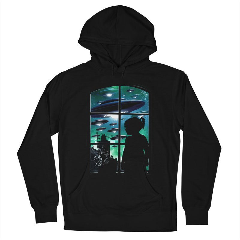 The Invasion Men's French Terry Pullover Hoody by moncheng's Artist Shop