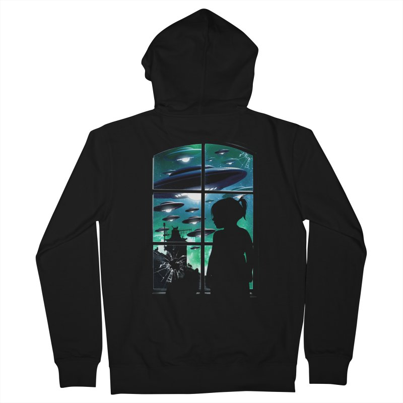 The Invasion Men's Zip-Up Hoody by moncheng's Artist Shop