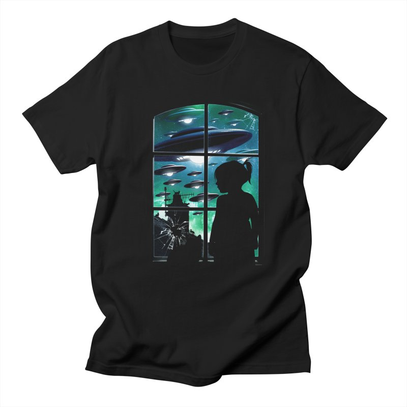 The Invasion Men's T-Shirt by moncheng's Artist Shop