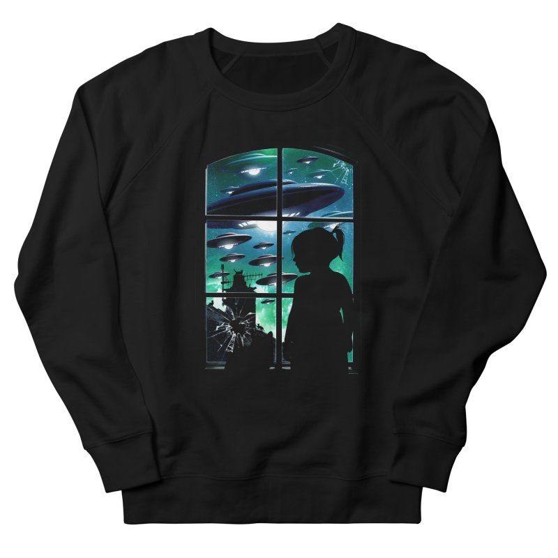 The Invasion Men's French Terry Sweatshirt by moncheng's Artist Shop