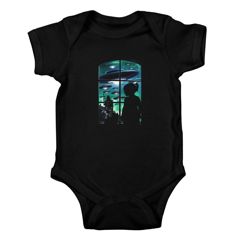 The Invasion Kids Baby Bodysuit by moncheng's Artist Shop