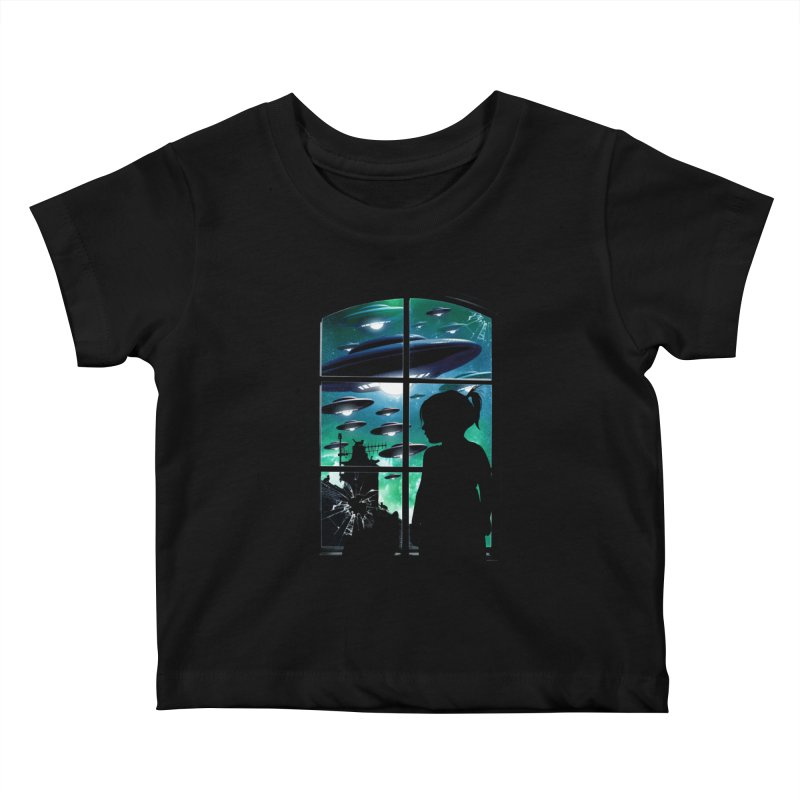 The Invasion Kids Baby T-Shirt by moncheng's Artist Shop