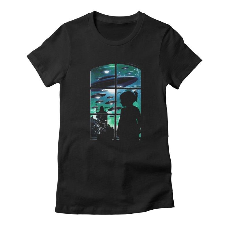 The Invasion Women's T-Shirt by moncheng's Artist Shop