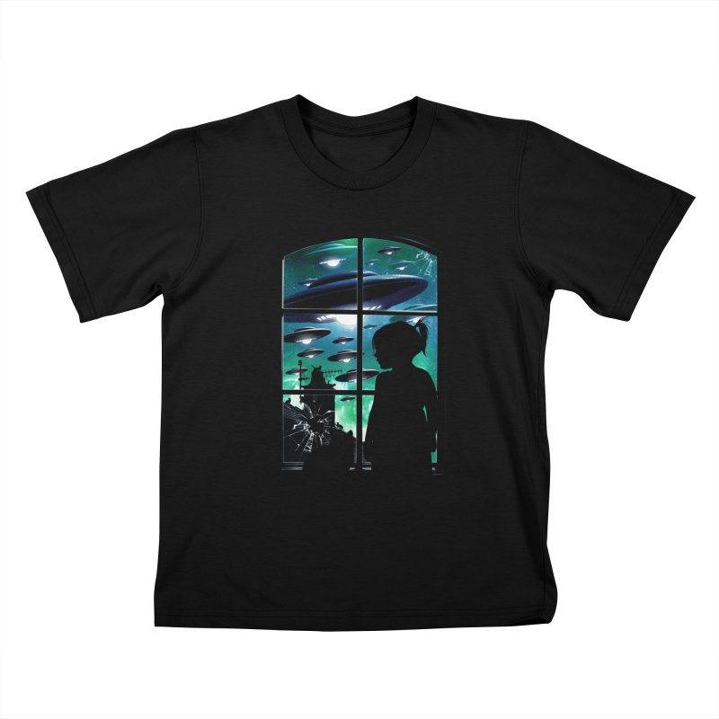The Invasion Kids T-Shirt by moncheng's Artist Shop