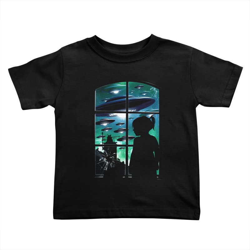 The Invasion Kids Toddler T-Shirt by moncheng's Artist Shop