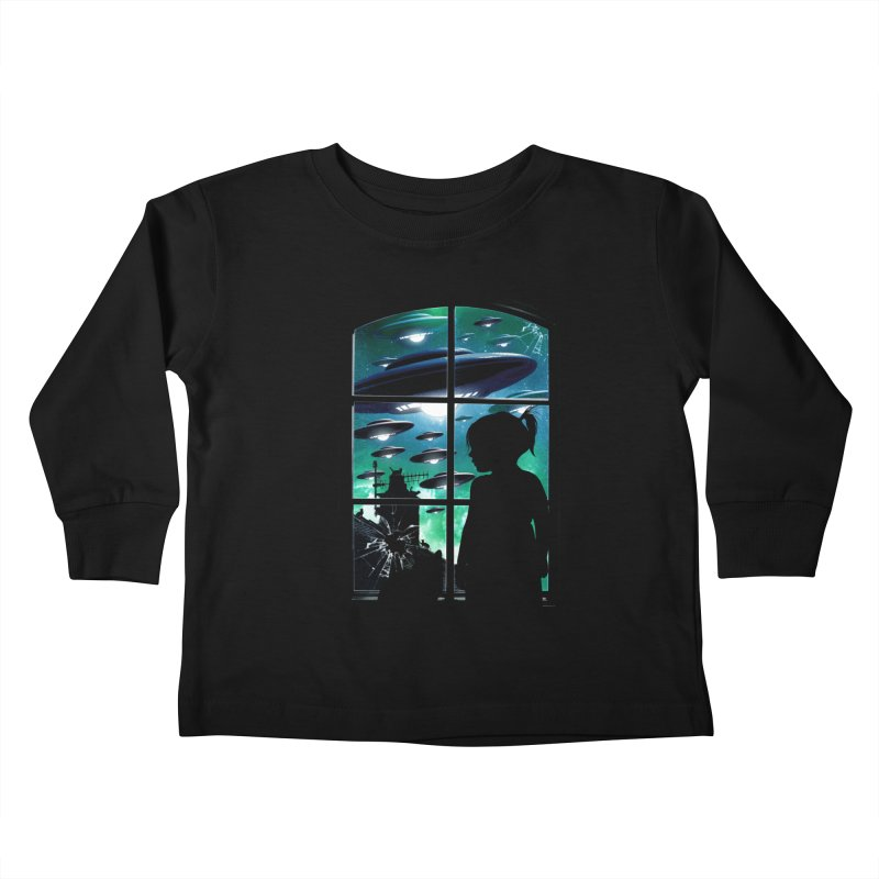The Invasion Kids Toddler Longsleeve T-Shirt by moncheng's Artist Shop