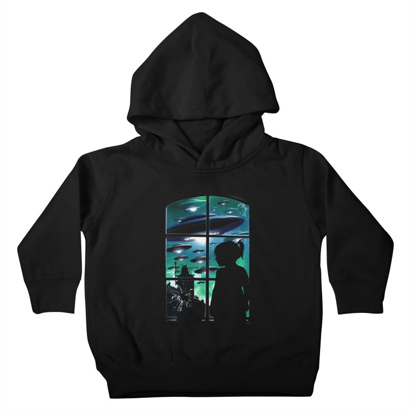 The Invasion Kids Toddler Pullover Hoody by moncheng's Artist Shop