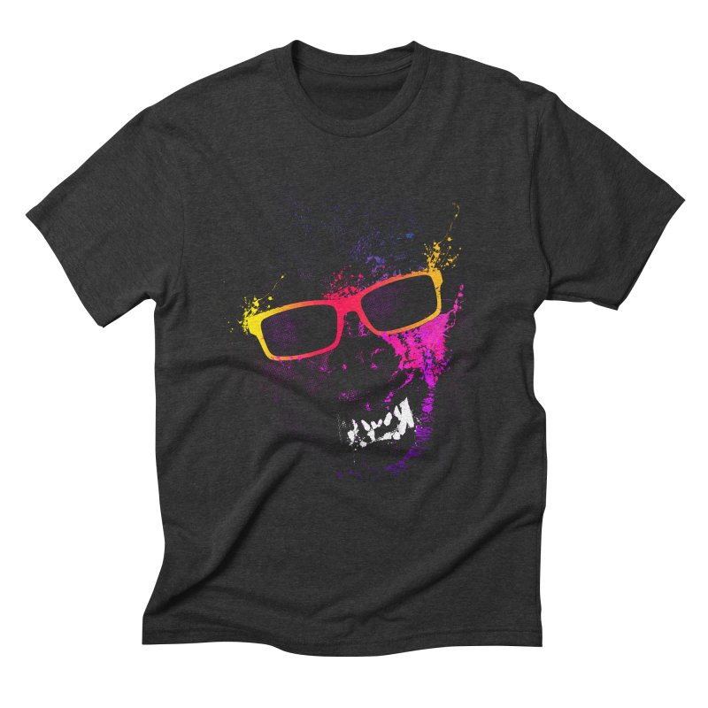 Splatter Wolves Men's T-Shirt by moncheng's Artist Shop