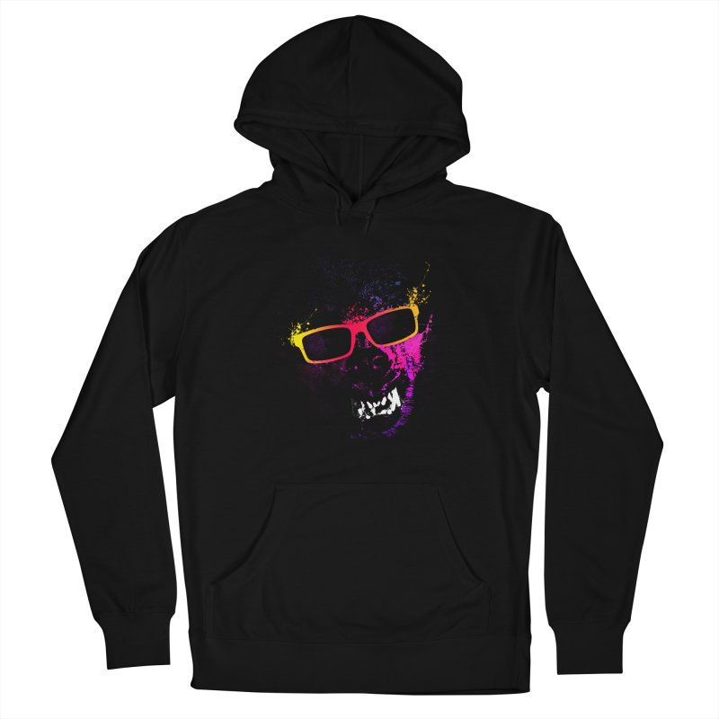 Splatter Wolves Women's Pullover Hoody by moncheng's Artist Shop