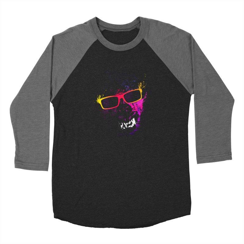 Splatter Wolves Men's Longsleeve T-Shirt by moncheng's Artist Shop