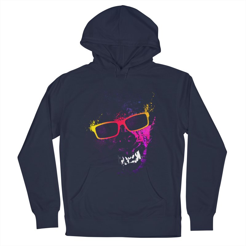 Splatter Wolves Men's Pullover Hoody by moncheng's Artist Shop