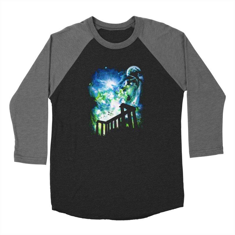 Aurora Night Women's Longsleeve T-Shirt by moncheng's Artist Shop