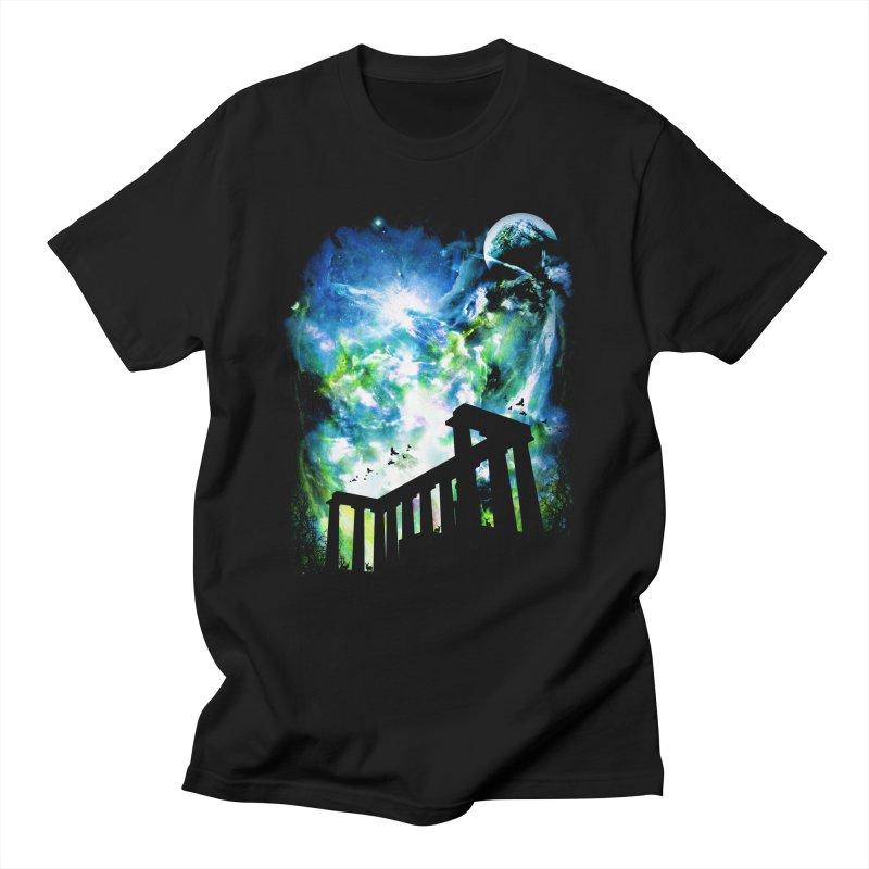 Aurora Night Men's T-Shirt by moncheng's Artist Shop