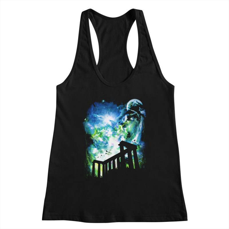 Aurora Night Women's Tank by moncheng's Artist Shop