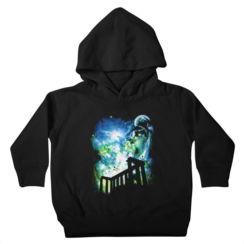 Aurora Night Kids Toddler Pullover Hoody by moncheng's Artist Shop
