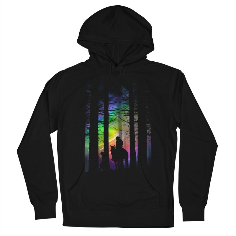 The Traveler Men's French Terry Pullover Hoody by moncheng's Artist Shop