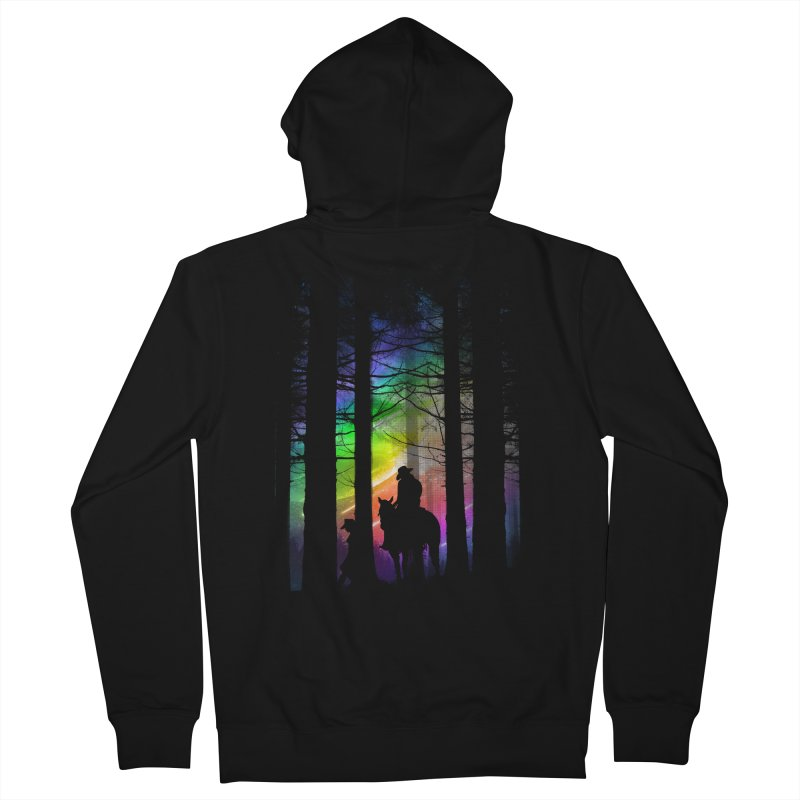 The Traveler Men's Zip-Up Hoody by moncheng's Artist Shop
