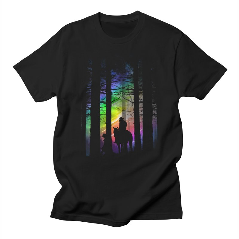 The Traveler Men's T-Shirt by moncheng's Artist Shop