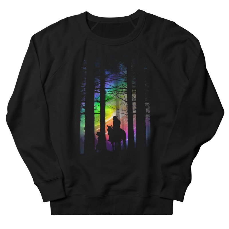 The Traveler Men's French Terry Sweatshirt by moncheng's Artist Shop
