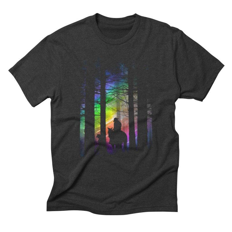 The Traveler Men's Triblend T-Shirt by moncheng's Artist Shop