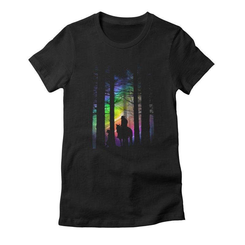 The Traveler Women's T-Shirt by moncheng's Artist Shop