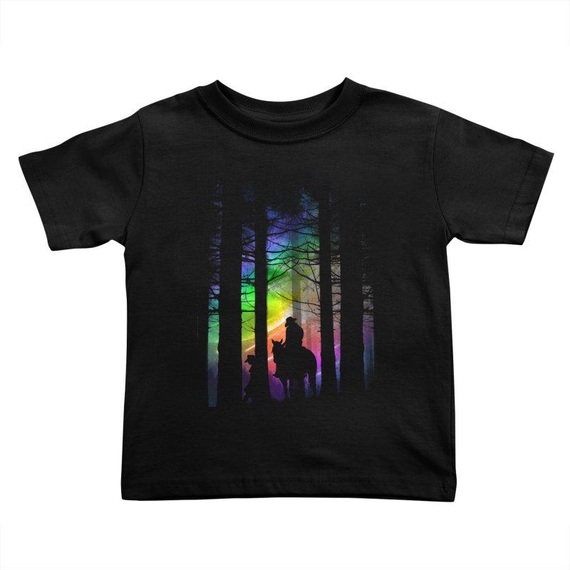 The Traveler Kids Toddler T-Shirt by moncheng's Artist Shop