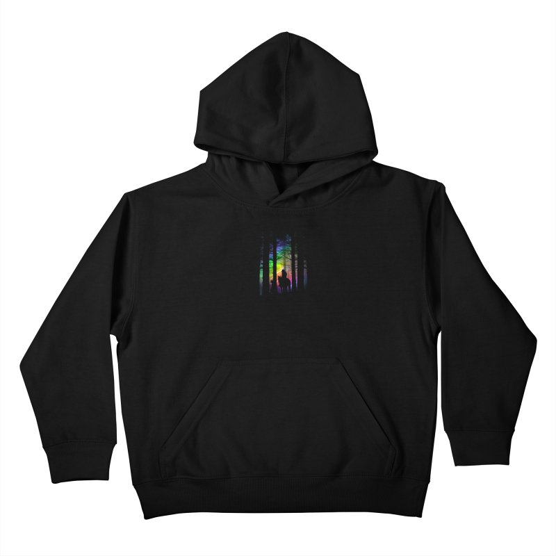 The Traveler Kids Pullover Hoody by moncheng's Artist Shop