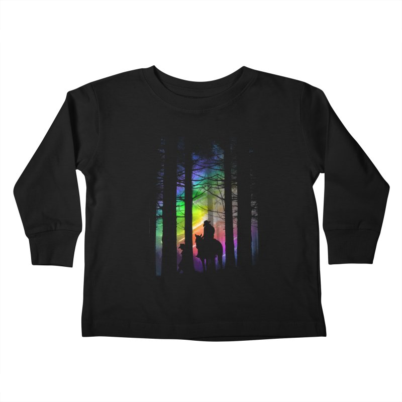 The Traveler Kids Toddler Longsleeve T-Shirt by moncheng's Artist Shop