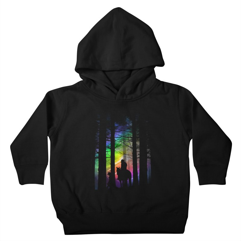 The Traveler Kids Toddler Pullover Hoody by moncheng's Artist Shop