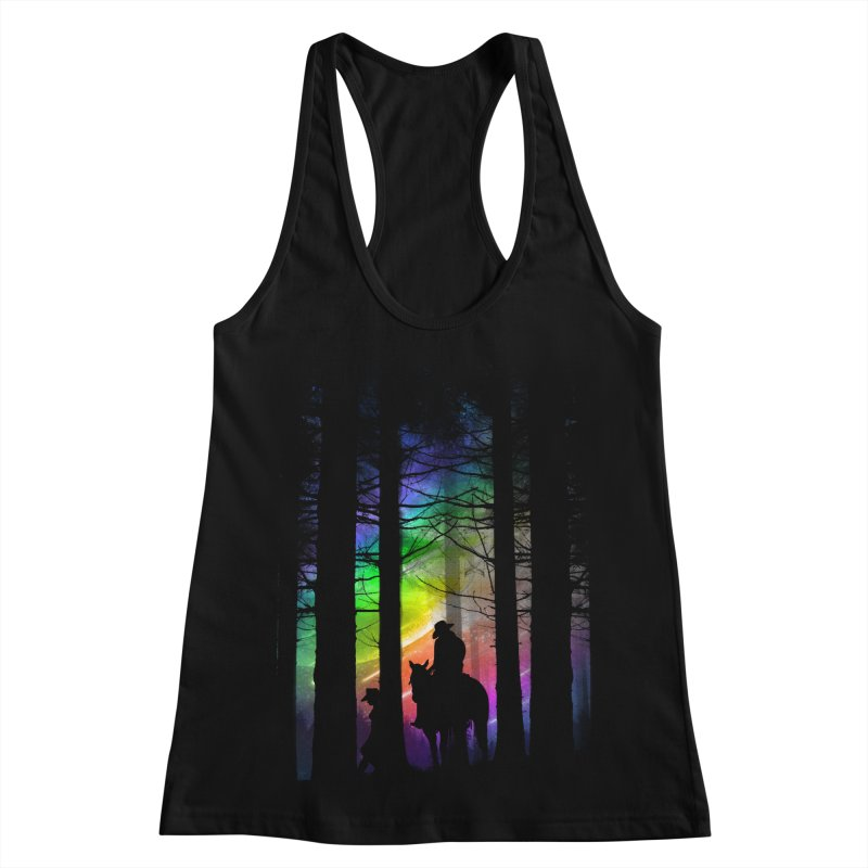 The Traveler Women's Racerback Tank by moncheng's Artist Shop
