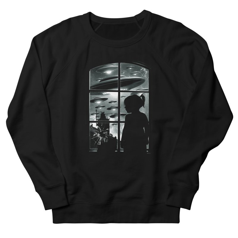 The Invasion (BW) Women's Sweatshirt by moncheng's Artist Shop