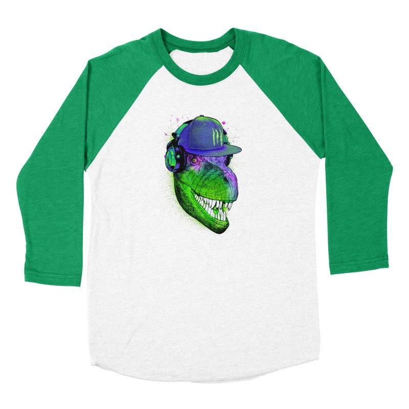 Dj T-Rex Men's Longsleeve T-Shirt by moncheng's Artist Shop