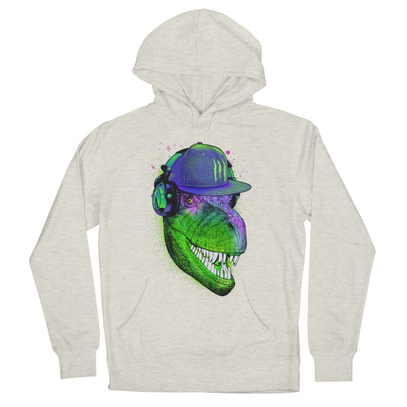 Dj T-Rex Women's Pullover Hoody by moncheng's Artist Shop