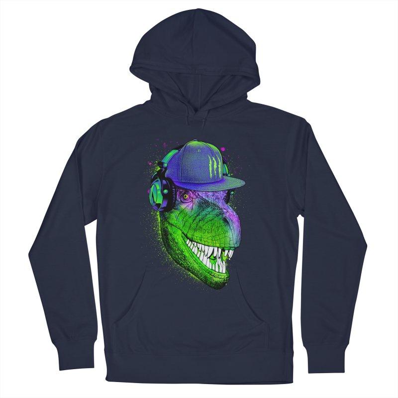 Dj T-Rex Men's Pullover Hoody by moncheng's Artist Shop