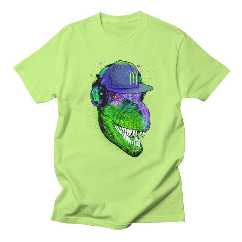 Dj T-Rex Men's Regular T-Shirt by moncheng's Artist Shop