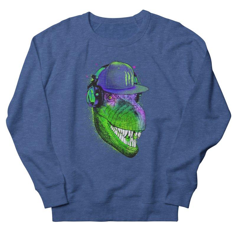 Dj T-Rex Women's French Terry Sweatshirt by moncheng's Artist Shop