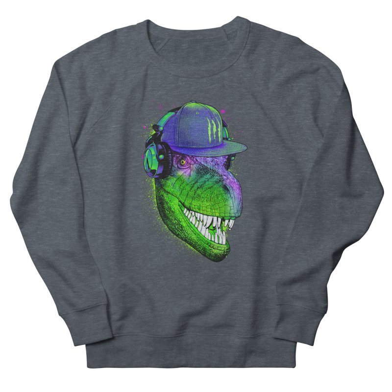 Dj T-Rex Men's Sweatshirt by moncheng's Artist Shop